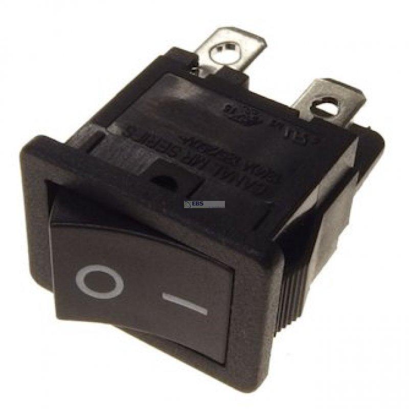 Wipp - Schalter 2pol. Schwarz 12 x 19mm, 6,40 €
